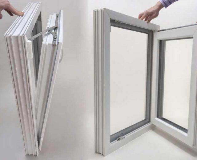 پنجره دوحالته یو پی وی سی