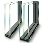 شیشه دوجداره یا سه جداره